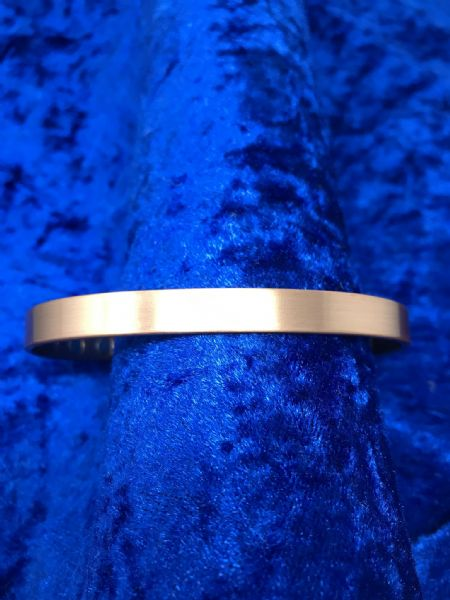 Pure Plain Copper Magnetic Bangle